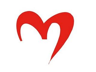 Logo de Zaragoza Global modificado como un corazón