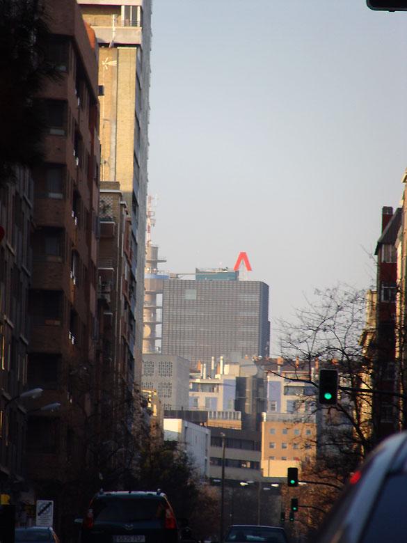 Edificio Aragonia visto desde la Avenida Goya en Zaragoza