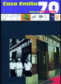 """Portada libro """"Casa Emilio, 70 años de historia"""""""