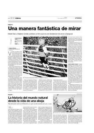 Página de El Periódico de Aragón