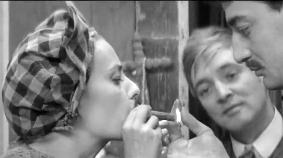 Jeanne Moreau en Jules et Jim de François Truffaut
