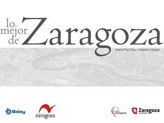 """Portada del libro """"Lo mejor de Zaragoza"""""""