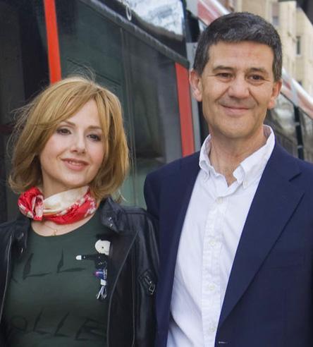 Foto de María Pilar Clau y Mariano Gistaín